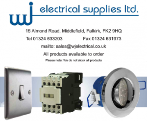 WJ Electrical electrical suppliers falkirk