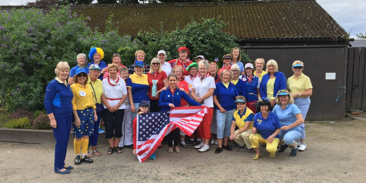 Tryst Ladies Solheim Cup Day- All bright and colourful
